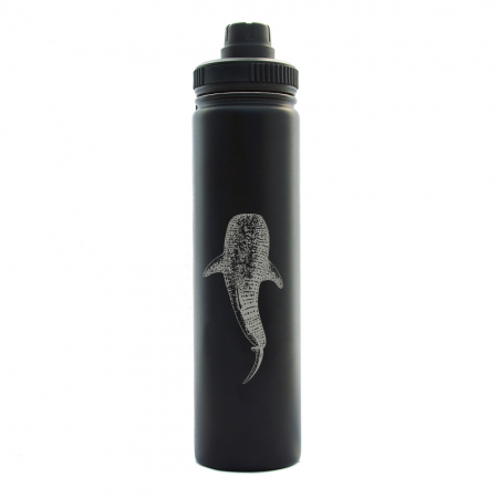 24oz whaleshark black
